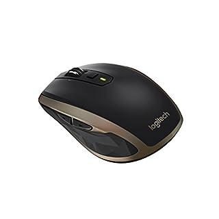 Logitech MX Anywhere 2 Mouse Wireless per Windows e Mac con Bluetooth e Unifying, Standard,Nero Meteorite (B0107N87DQ) | Amazon price tracker / tracking, Amazon price history charts, Amazon price watches, Amazon price drop alerts