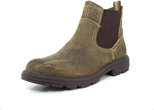 UGG Men's Biltmore Chelsea Boot, Military Sand, 10.5 M US