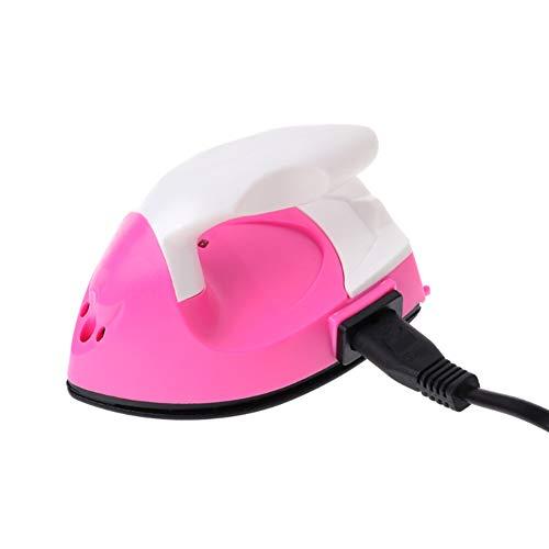 Smile Co Stoomstrijkijzer Elektrische IJzer, Mini DIY Elektrische IJzeren Patchwork Quilt Afbeeldingskaart Speciale Doek Clip Draagbaar