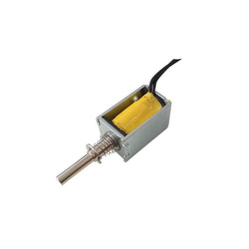 UEETEK Actuador de marco abierto de 6V DC Linear Mini Electromagnet de solenoide de presion de empuje