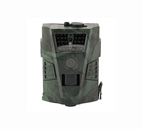 Hinterkamera 12MP 1080P, wasserdichte Wildkamera, Kamera für die Jagd auf Wildtiere, Infrarot-Nachtsicht, 65 Fuß
