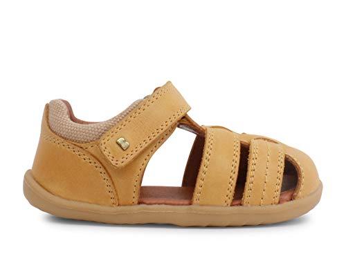 Bobux Step Up Roam Closed Sandal_Primeros Pasos - Sandalias de Playa de bebé niño Bobux de Piel (Chartreuse, Numeric_19)