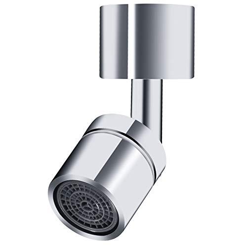 Filtro de grifo giratorio de 720 °, grifo ajustable para baño y cocina, para grifo M22 M24, extensión de cabezal de pulverización