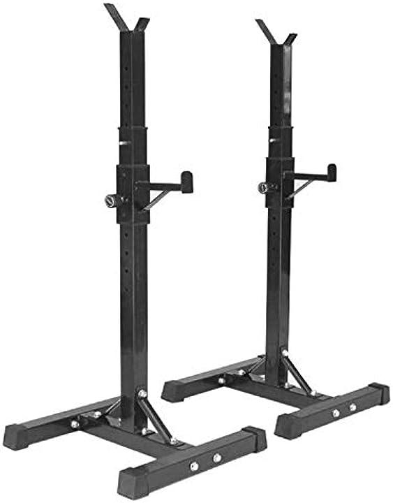 Rack da squat, regolabile porta manubri da squat, i cavalletti per bilanciere yizhe U3SDQY3E47O9G993RPC