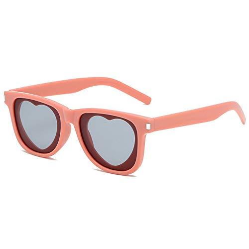 Burenqi@ Cat Eye Merk Designer Zonnebril Voor Dames Hartvorm Helder Lens Trend Bril Zwart Luipaardprint Gothic Uv400