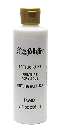 FolkArt Acrylic Paint in Assorted Colors (8 oz), , Wicker White
