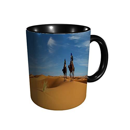 Caravan of Camel in The Sahara Desert of Marruecos B 11 Gu Division - Taza