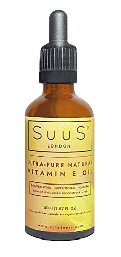 SuuS Ultra-Pure Natural Vitamin E Oil 50ml