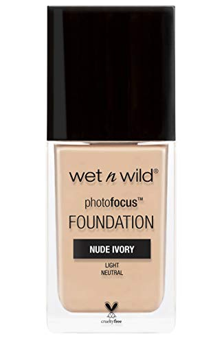 Wet n Wild - Photo Focus Foundation - Fondotinta Avorio Nude -...