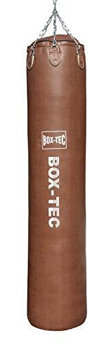 Box-Tec Boxsack Sandsack EL Gigante, Retro, Sondergröße 200x45cm, 70kg, Studioqualität, inkl. Vierpunkt-Kette