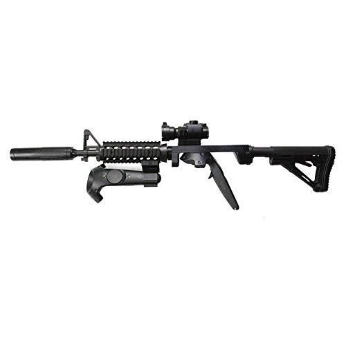 VR Gun Stock Game Controller Case for HTC Vive, Shooting Game Gun Joysticker Gamepad, Stock Rifle Adapter