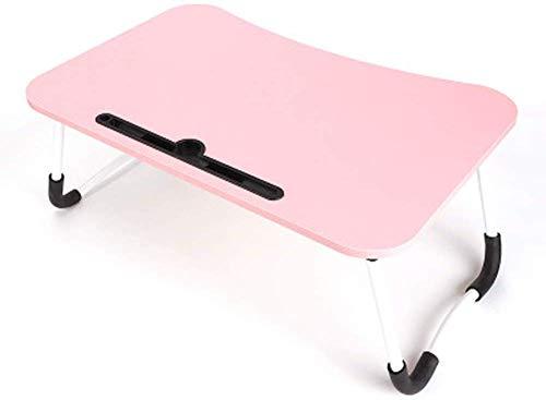 NewbieBoom Blat duża taca na laptopa składana i przenośna biurowa łóżko/kempingowy stół podłogowy składany śniadanie w łóżku taca do serwowania / 23,6 x 15, A
