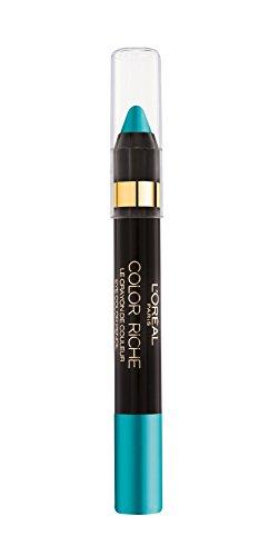 L'Oréal Paris Color Riche Crayon De Couleur Matitone Ombretto, 15 Paradise Turquoise
