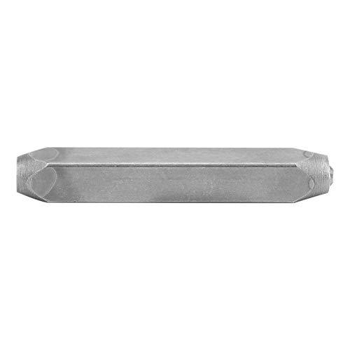 Material de acero CR V, sello de metal, para imprimir metal, accesorio de cuero para bricolaje(Cruciform)