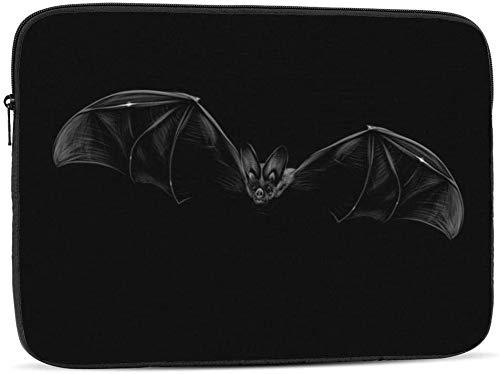 Portrait of A Bat - Funda para ordenador portátil compatible con 10 – 17 pulgadas, diseño de retrato de un murciélago