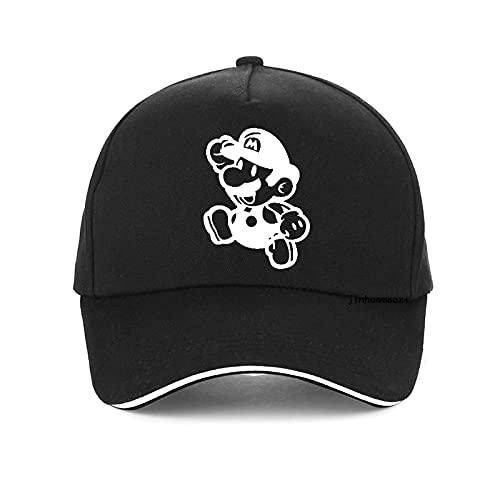 Super Mario Hat Anime Super Mario Sombrero Gorra Luigi Bros Cosplay Bisbol Disfraz Regalo de Cumpleaos Mario Caps Nios Regalo de Navidad G