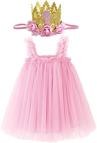 1st birthday party dress for baby girl _image1