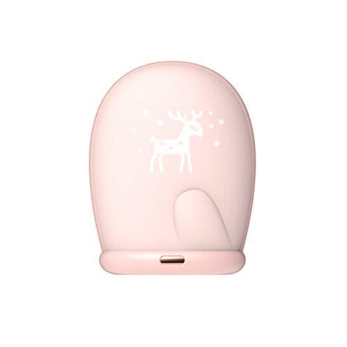 SH-JTL handwarmer oplaadbare handwarmer herbruikbaar, zacht materiaal voor de huid, snel opwarmen van 1 seconde, mobiele capaciteit 8000 mAh, elektrische handwarmer, geschikt voor handen, schouders, benen, voeten