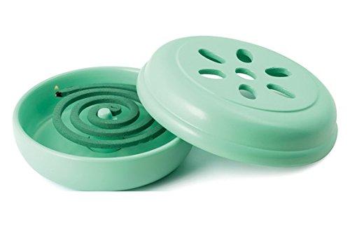 Quality ferreteria Plus M293342 - Quemador Espiral antimosquitos Verde con 10 espirales