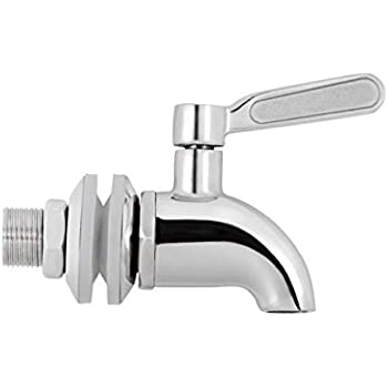 Geniune Berkey Stainless Steel Spigot - Fits all Berkey Stainless Steel Systems (Original Version)