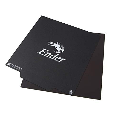 Tresbro Creality 3D Printer Magnetic Bed Flexible Magnetic Hot Bed Sticker Original Removeable Build Surface Platform for Ender 3 Ender 3 Pro