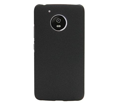 ARTILVST Motorola Moto G5 2017 (5.0') Funda,Ultra fino medio rodeó la estructura de superficie mate Durable PC Protector teléfono funda para Motorola Moto G5 2017 (5.0') Smartphone [negro]