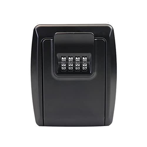 JJZXT Tecla de Almacenamiento Caja Secreta de 4 dígitos Combinación de contraseña Código de Seguridad Clave Clave Clave de Inicio Caja Segura