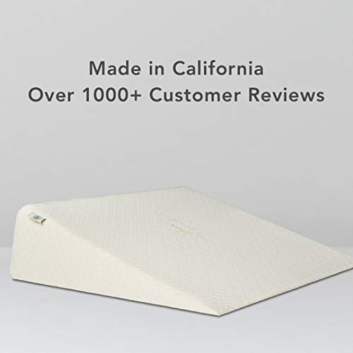 Brentwood-Therapeutic-Foam-Bed-Wedge-Sleep-Pillow-100-Made-in-USA-CertiPUR-US-Washable-Natural-Bamboo-Cover
