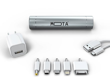 Battery Stick for Moblie Silve