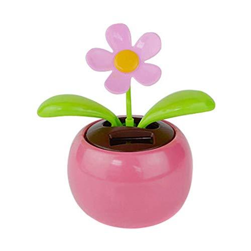 N-K Coche de juguete bailando con energía solar, decoración para el salpicadero del hogar, oficina, regalo elegante y popular