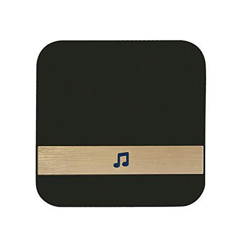 Bluetooth Smart Link WiFi Video deurbel Draadloze Video deurbel Voice Intercom Zwart