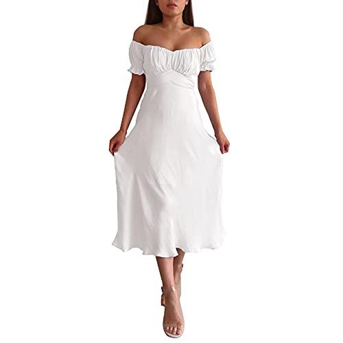 Vestidos Cortos Boda,Vestido Blanco Fiesta,Vestido Camiseta Mujer,Vestidos para Comunion Invitada,Vestido Largo Invitada Boda,Traje Mujer Boda,Vestido Novia Boda Civil,Vestido para Fiesta De Boda