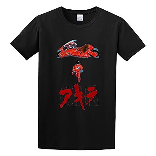 Kaneda Akira Movie Poster Manga Mania Japanese Anime 90S O Neck Men T Shirt XL, Black