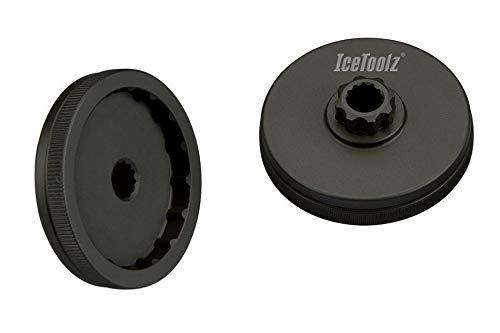 IceToolz BB para Shimano Hollowtech Installation Tool, Negro, M