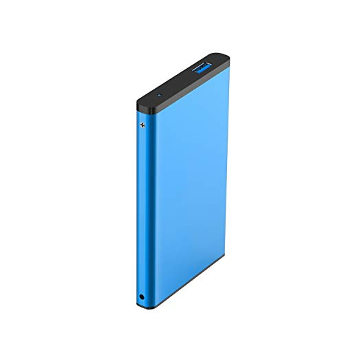 Hdd External Hard Drive 2tb/500gb/320gb, Usb 3.0 Portable Mobile Backup Storage, Suitable for Pc, Desktop, Laptop, Macbook, Xbox One, Ps4, Smart Tv and Other Devices (Capacity : 1TB, Color : Blue)