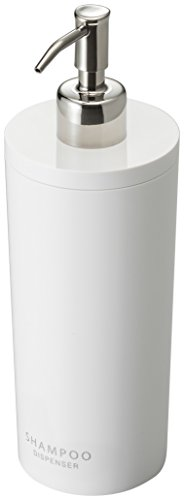 YAMAZAKI home 2928 Tower Shampoo Dispenser-Contemporary Bottle Pump for Shower