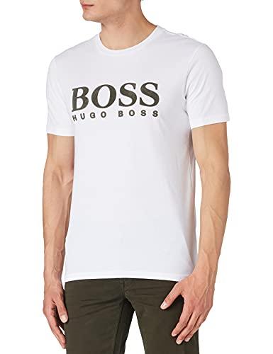 BOSS TLogo 21 10232834 01 Camiseta, White100, XL para Hombre