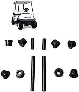 Fat Dragon GOLF Front or Rear Leaf Spring& Front Upper A Arm Suspension for Club Car Precedent Golf Cart,Bushing and Sleeve Kit