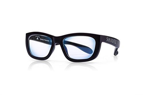 Preisvergleich Produktbild SHADEZ Unisex Shz 102 Brillengestell,  Schwarz (Black)