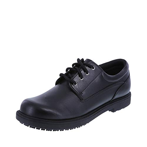 safeTstep Slip Resistant Women's Black Women's Deidre Oxford 11 Wide