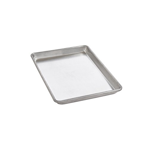 Mrs. Anderson's Baking Quarter Sheet Pan, 9.5-Inches x 13-Inches, Heavyweight Commercial Grade 19-Gauge Aluminum