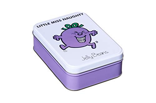 Official Little Miss Naught Jelly Beans Gift Tin with 12 flavours.