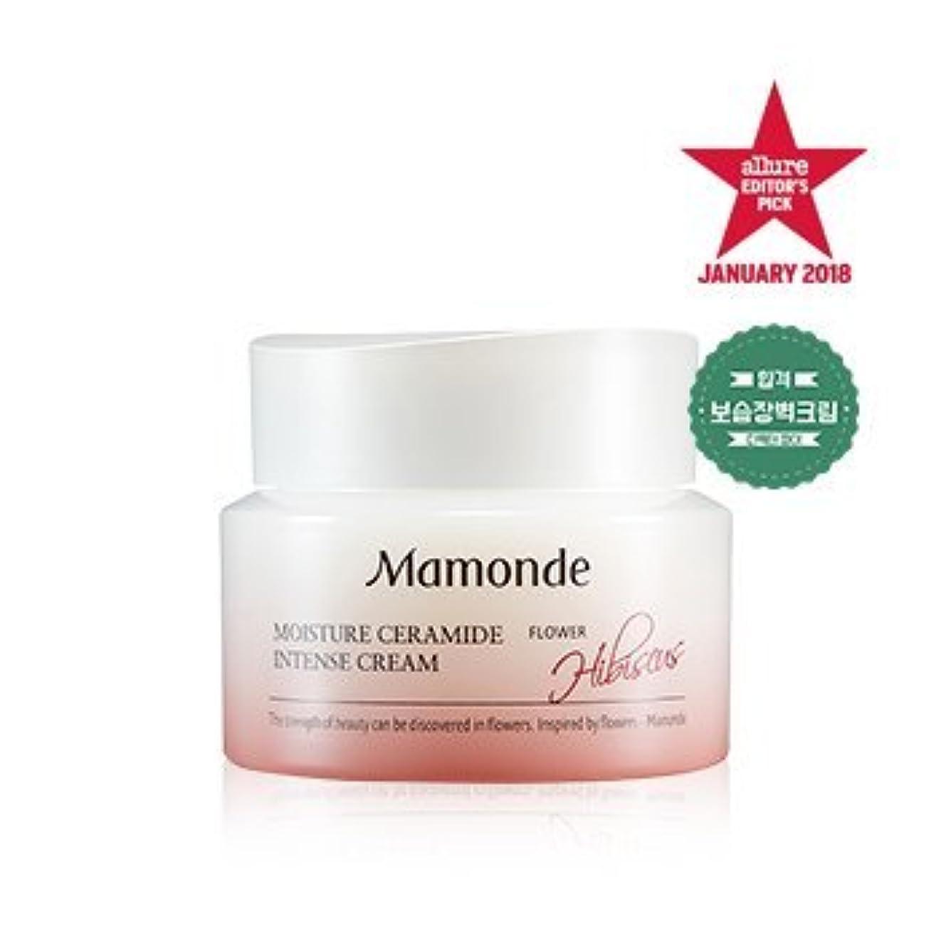 連合州神秘的な[MAMONDE] モイスチャーセラミドインテンシブクリーム / Moisture Ceramide Intense cream 50ml [並行輸入品]