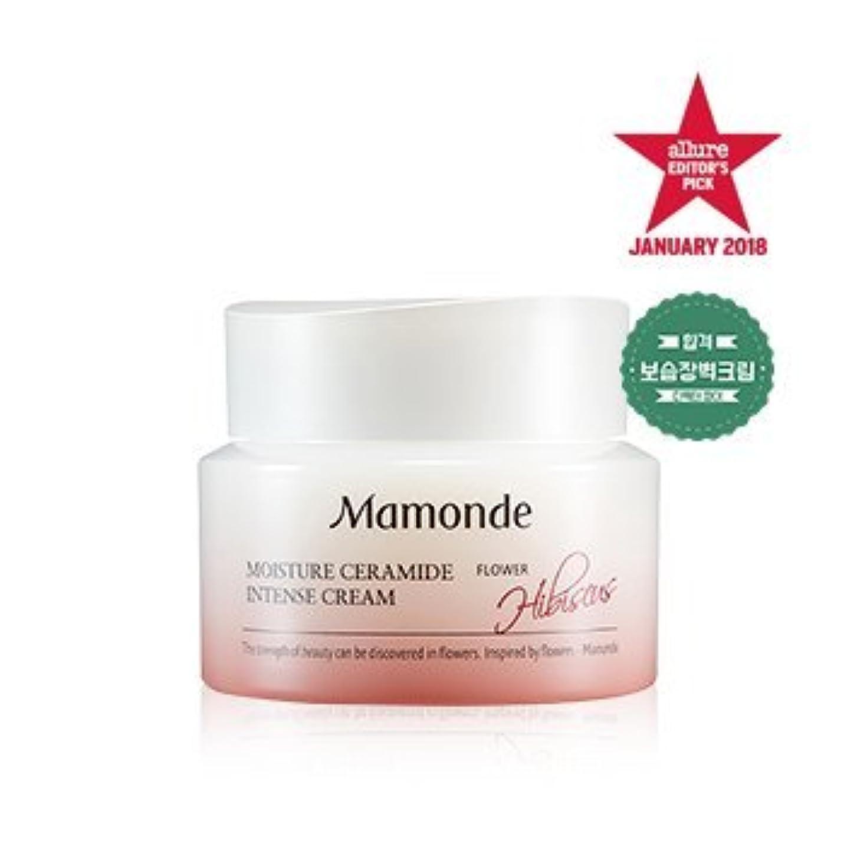 癌大陸チェリー[MAMONDE] モイスチャーセラミドインテンシブクリーム / Moisture Ceramide Intense cream 50ml [並行輸入品]