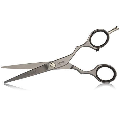 Ciseaux de coiffeur professionnels et pour barbier lisse pour coupe cheveux Jaguar Pre Style Ergo Scice (Taille 5 pouces)