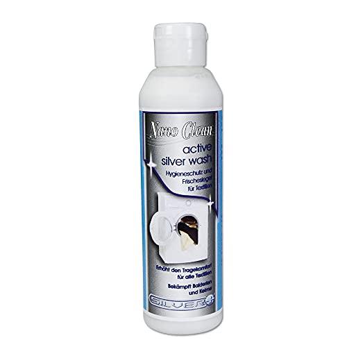 Laver Nano supplémentaire Clean Silver Wash contre les odeurs les bactéries germes