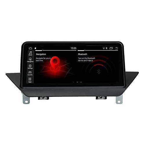 JIBO para B M AN X1 E84 2009-2015 Android 9.0 Estéreo GPS Navegación Multimedia Jugador 10,25' Negro Pantalla Auto Cabeza Unidad Teléfono Control WiFi BT Video Receptor Nav Sat