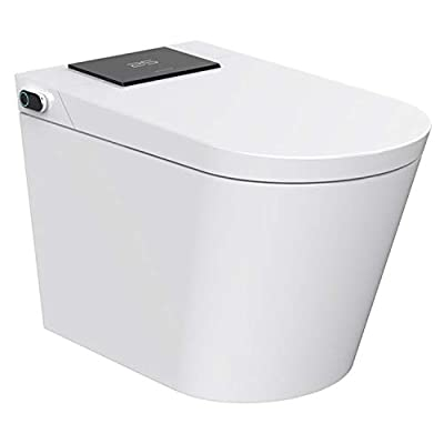 Trone NETBCDER-12.WH Nobelet Electronic Toilet with Integrated Bidet, White