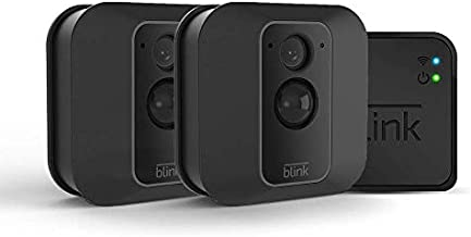 Blink XT2 Outdoor/Indoor Smart Security Camera with cloud storage included, 2-way audio, 2-year battery life – 2 camera kit (Used)