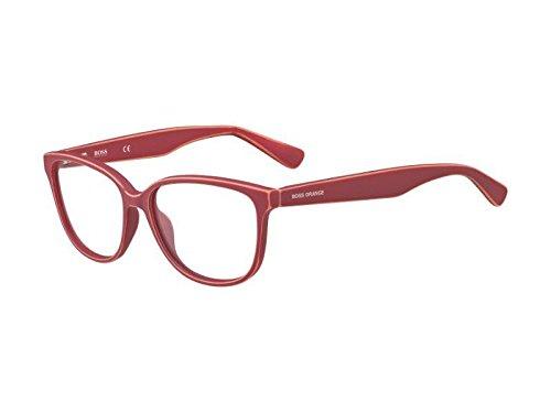 BOSS Orange Hugo Orange Sonnenbrille BO-0207-9DW-15-53-15-140 Gafas de sol, Rojo (Rot), 53.0 para Mujer